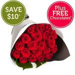 20 Red Roses for $49.95 (Save $20) + Delivery @ Fresh Flowers [Sydney Metro Only]