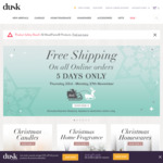 Dusk - Free Shipping on All Online Orders until 27th November