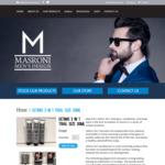 """[WA] Free: Masroni Men's Design """"Ultimo 3 in 1 (Body Wash, Shampoo, Conditioner) Trial Size 30ml"""""""