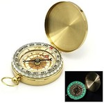 Flip-Open Gold Plated Pocket Compass $0.80 US (~$1.04 AU) Shipped @ Lightinthebox