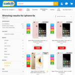 Apple iPhone 6s (A Grade Pre-Owned) 16GB $299 | 64GB $399 | 128GB $449 + $9.95 Shipping @ Catch