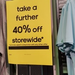 [VIC] adidas Outlet Extra 40% off Store Wide (DFO Moorabbin Airport)
