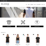 Blanks Brand Fashion - $10 off Any Purchase
