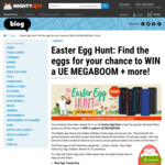 Win a Logitech UE Megaboom or 1 of 5 $20 Vouchers from Mighty Ape