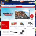 "Bauhn 49"" Ultra HD LED 4K TV $399.00, Powerboard $24.99, Google Home Mini 2pk $109.00 @ ALDI"