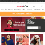 Cotton On - 30% off Sitewide Including Sale Items, Free Delivery over $55 or $25 via Shipster or Click & Collect - 2 Days Only