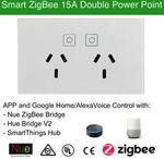 Zigbee Double Power Point Outlet Nue $57 (Was $65) @ eBay Googlehome