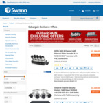 Swann 4MP + 5MP (Upgrade to 4K) POE Security Systems $799 + Free Shipping @ Swann