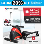 Lifespan Fitness Rower 441 - $175.20 + Shipping @ gflmarketplaces on eBay
