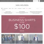 4 Shirts for $100 @ Van Heusen