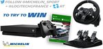 Win a Forza 7 Xbox One X Bundle Worth $1,378 from Michelin Motorsport