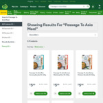 1/2 Price: Passage to Asia Meal Kits Varieties 320g $2.50 @ Woolworths