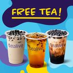 [VIC] Free Bubble Tea, Thursday 19/7 11AM-1PM @ Tealive (Southern Cross Station)
