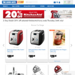 20% off KitchenAid and Dyson @ The Good Guys