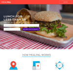 [NSW/VIC] $30 off Your First Mealpal Sign up via Referral