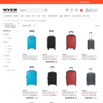 70% off Original Price of Monsac Luggage @ Myer (Online Only)