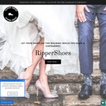 29% off Sitewide Starting $78.10 (Was $109.99) Grand Final 29th September Sale + Free Shipping @ RipperShoes