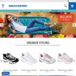 Skechers Shoes from $19.99 @ Skechers (Free Shipping When Order > $25 with Shipster)