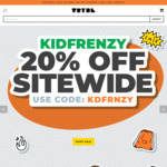 20% off Everything | Nike, adidas, New Balance & Converse kids shoes @ The Trybe