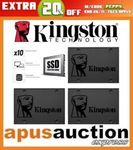 Kingston A400 SSD 120GB $35.96, 240GB $44.76, 480GB $89.56 Delivered @ Apus Auctions eBay