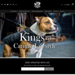 40% off Dog Collars, Leashes, Shampoos and Accessories @ Rogue Royalty