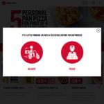 3+3 DEAL $39 Delivered @ Pizza Hut