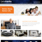 [VIC] Free Pillow in-Store 5.00-5.05pm, 55% off All Mattresses, 20% off All Furniture + Free Delivery @ Bevmarks Nunawading