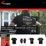 25% off All Riding Apparel (No Helmets Again) + Free Postage on Orders over $100 @ Fraser Motorcycles