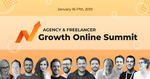 Agency & Freelancer Growth Online Summit 2019 Free @ Promo Republic