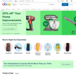 eBay Sitewide Spend & Save | 12% off $300+ Spend | 10% off $200+ | 7% off $120+ | Max Discount $75