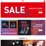 50% off Selected Products @ Puma