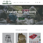 Hiking & Outdoor Equipment + Gear - 30% off Sitewide with Code (US $4.95 Shipping or Free with over US $50 Order) @ Survival Cat