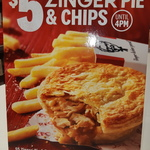 [SA] Zinger Pie & Chips $5 (Save $3.90) @ KFC (in Store before or in App All Day)