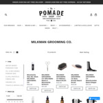 15% off all Milkman Grooming Beard Care Products  (Beard Oil - Beard Balm - Beard Wash) @ The Pomade Shop
