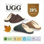 Real Aus Mens/Ladies Slippers $34.95 (Was $39.95) + Further Discount with Purchase of Multiple @ australiaunited eBay