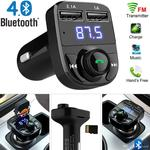 FM Transmitter Aux Modulator Bluetooth Car Audio MP3 Player 3.1a Dual USB Quick Charger $7.32 ~ $11.39 AU Delivered @ Dhgate