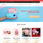 20% off Flash Sale (Feminine Hygiene Products) @ Moxie