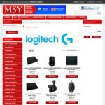 Logitech G29 Driving Force Racing Wheel $293, Logitech G920 Wheel / Pedal for PC / XB1 $312, Logitech Shifter $44 @ MSY