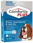 Comfortis Plus (Fleas, Heartworm & Worm) For Dogs 18-27kg 3 Pack - $26.47 (Was $67.50)  + Free Delivery @ Budget Pet Products