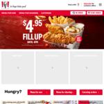[SA] 21 Pieces of Original Recipe $21 via KFC App