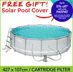 [eBay Plus] Bestway 56643 4.27m X 1.07m Power Steel Frame Pool $237.15 + Delivery @ Best Pool Supplies eBay