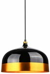 Dome Pendant Lamp in Black $30 + $9.95 Shipping (Free if Pickup or with over $100 Spend) @ The Lighting Club