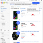 LG G8s $705, Galaxy Watch Active $263, Moto E6 Plus $169, LG K9 $122 / Watch W7 $175 Delivered @ Allphones eBay