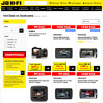 20% off Selected Dash Cams @ JB Hi-Fi