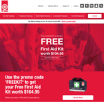 [NSW] Free First Aid Kit (Worth $104.95) When Booked First Aid Course (From $195) with St John's Ambulance
