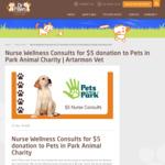 [NSW] $5 Nurse Consults For Pets @ Dr Paws Lane Cove (Artarmon)
