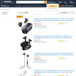 SoundPEATS Black Friday 25% of All SoundPEATS True Wireless Earbuds, Starting from $28.49 @ AMR Direct Amazon AU