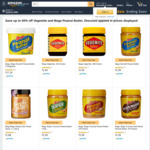 Vegemite 380gm $2.50, Bega Peanut Butter 500gm $1.70, Simply Nuts $1.88 + More + Delivery ($0 Prime / $39 Spend) @ Amazon AU