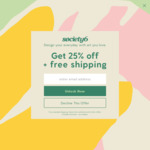 30% off Sitewide @ Society6
