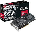 ASUS Radeon RX 580 Dual Gaming OC 4GB $199 + Delivery (Free C&C) @ PC Case Gear
